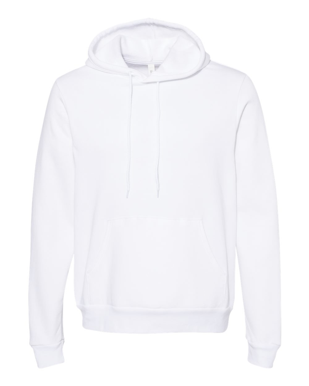 BELLA & CANVAS Customizable Hoodie in White