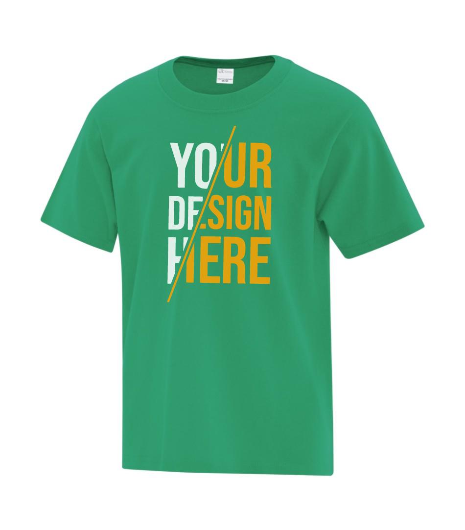 ATC™ Everyday Cotton Youth T-shirt - Kelly