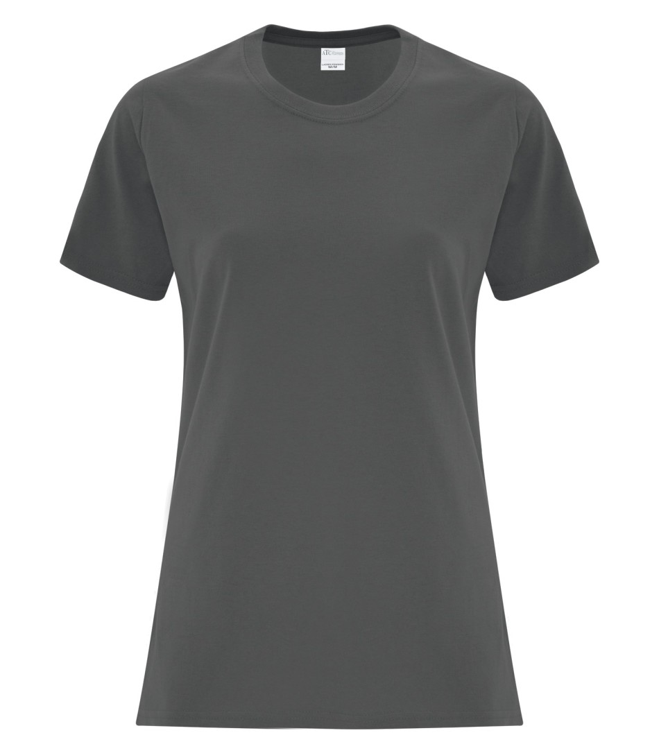 ATC Customizable Ladies T-Shirt- Charcoal