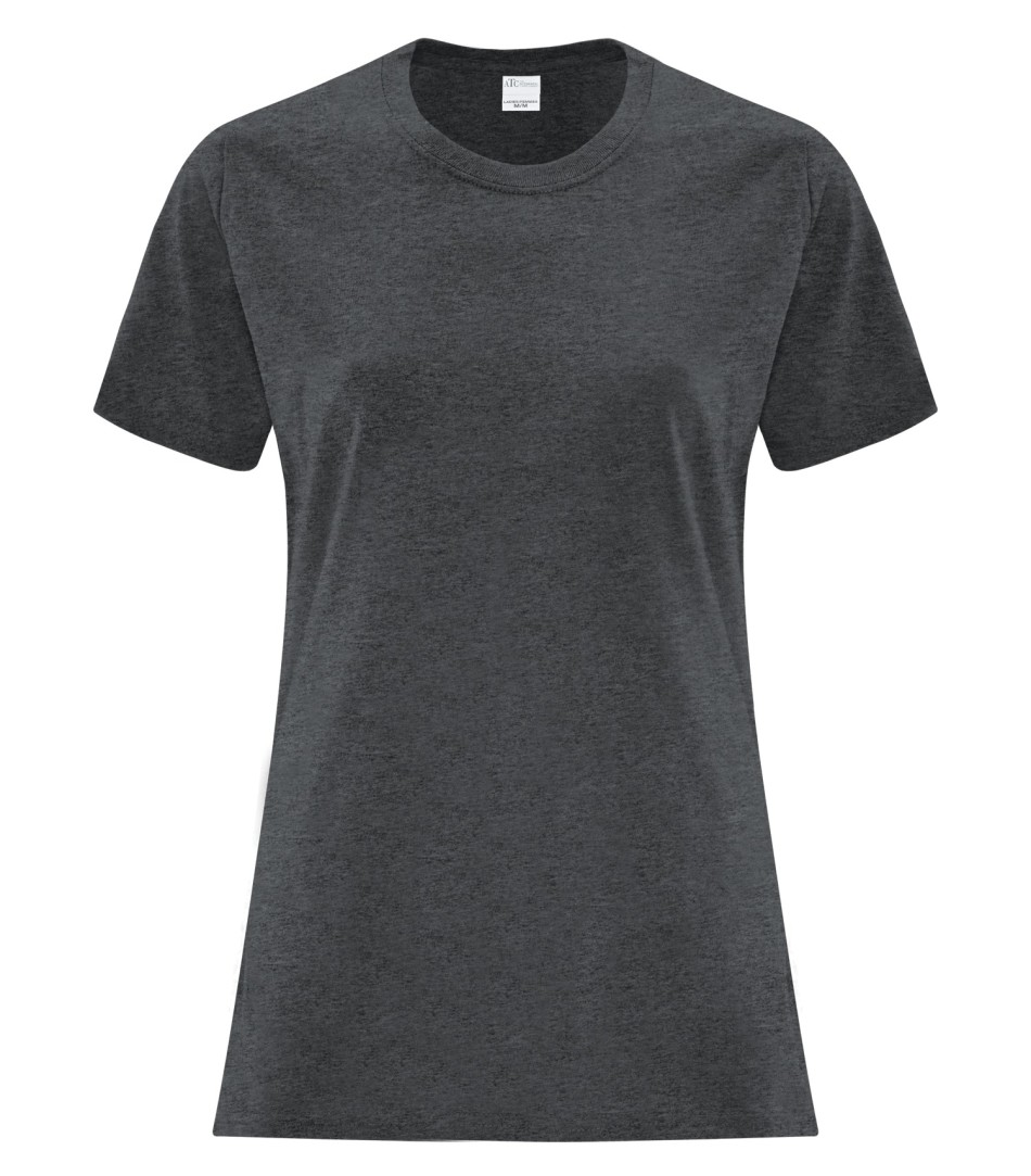 ATC Customizable Ladies T-Shirt- Dark Heather Grey