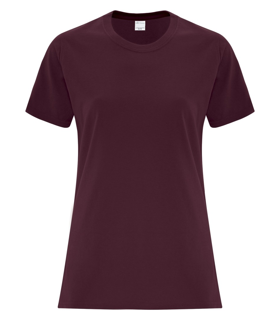 ATC Customizable Ladies T-Shirt- Maroon