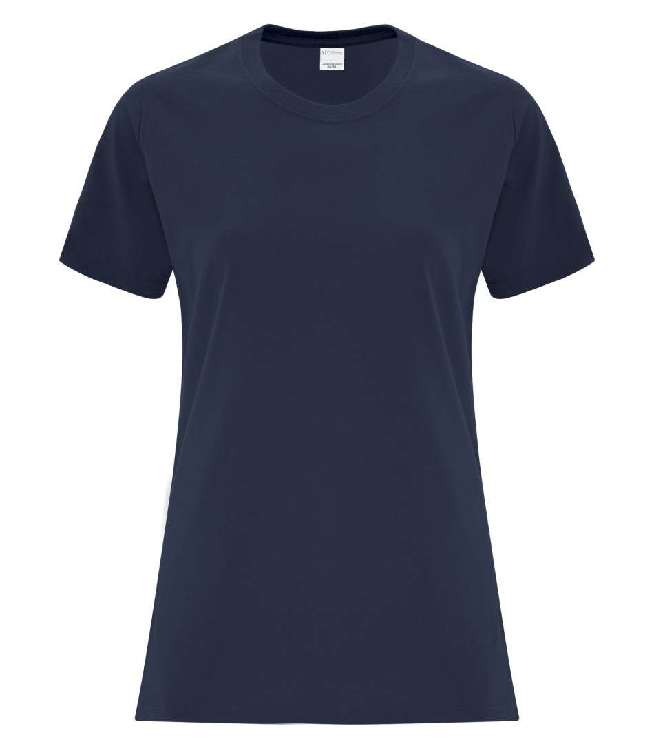 ATC Customizable Ladies T-Shirt- Navy