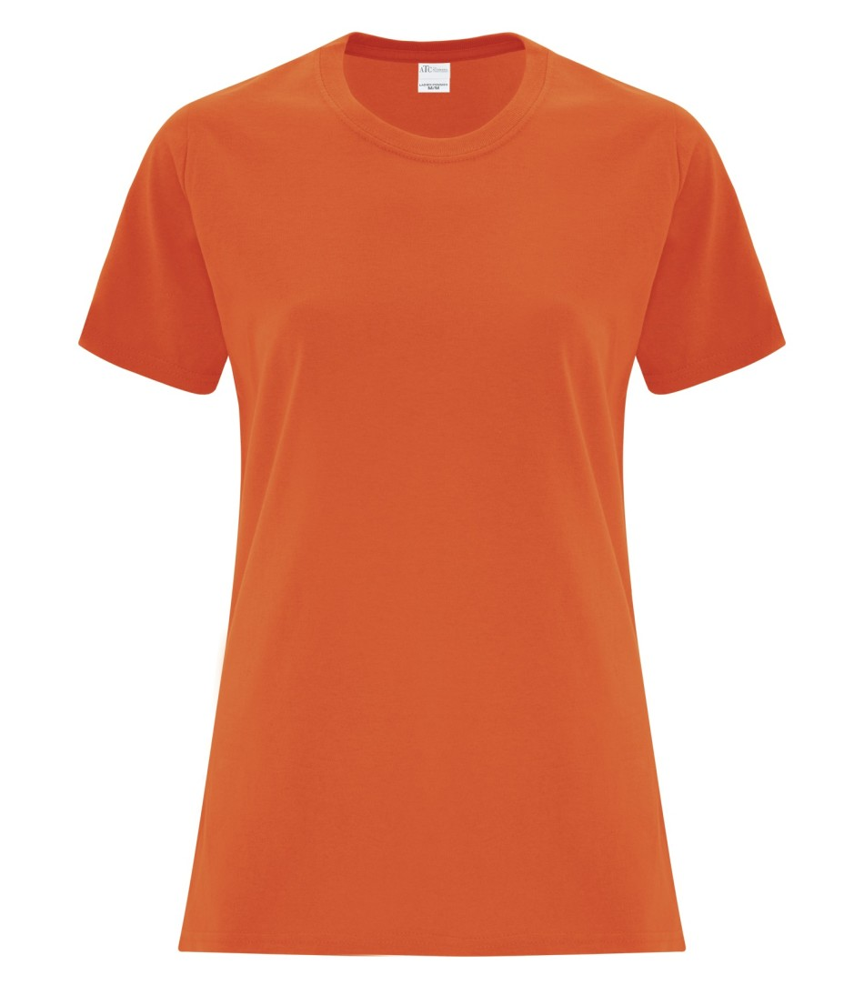 ATC Customizable Ladies T-Shirt- Orange