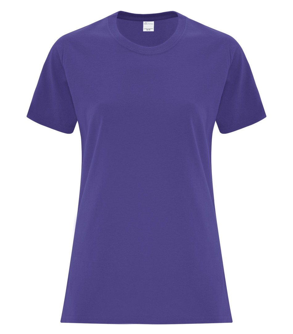 ATC Customizable Ladies T-Shirt- Purple