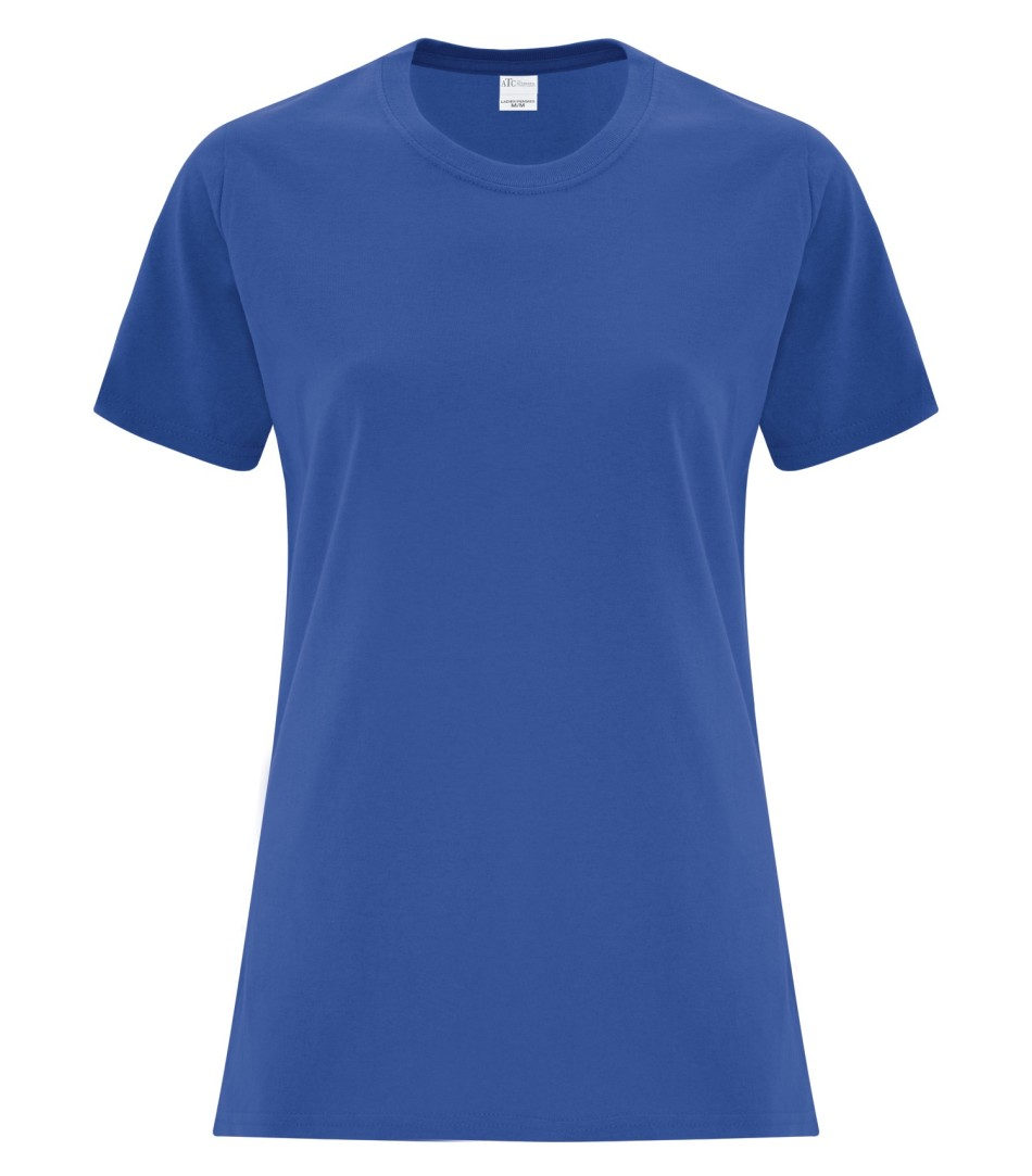 ATC Customizable Ladies T-Shirt- Royal