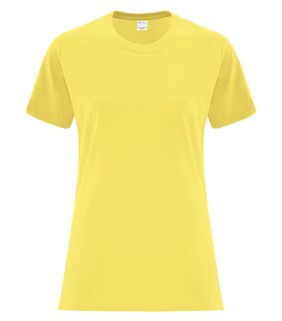 ATC Customizable Ladies T-Shirt- Yellow