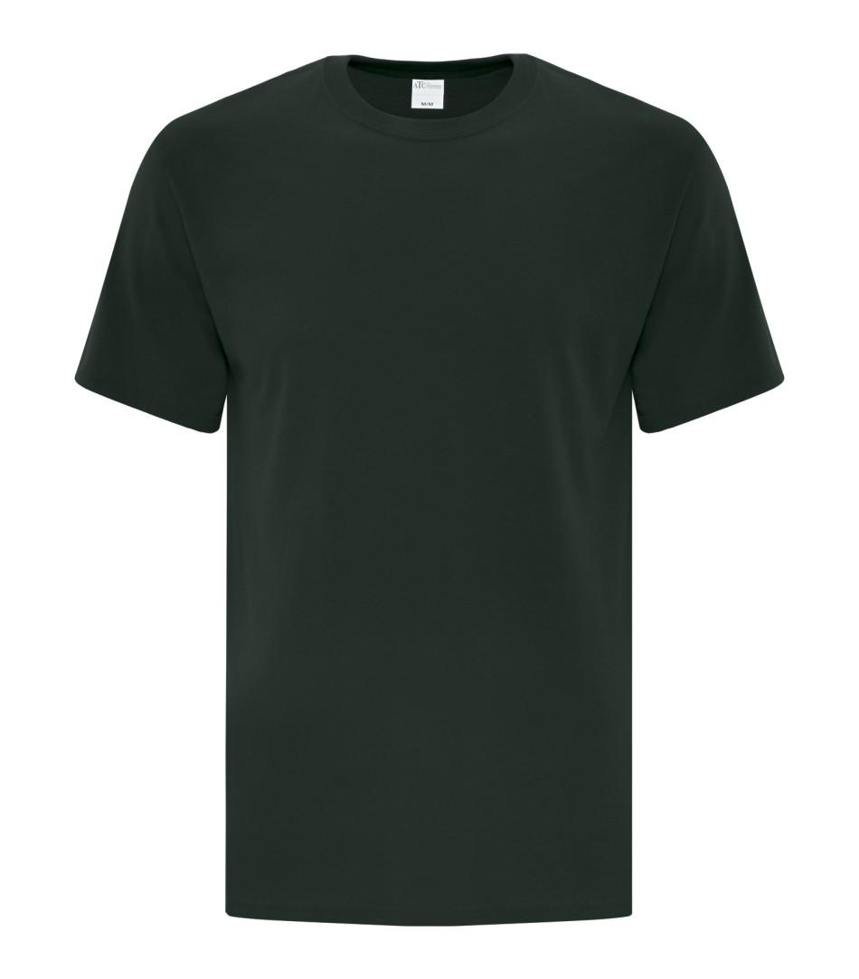 Dark Green Unisex Everyday Cotton Tshirt