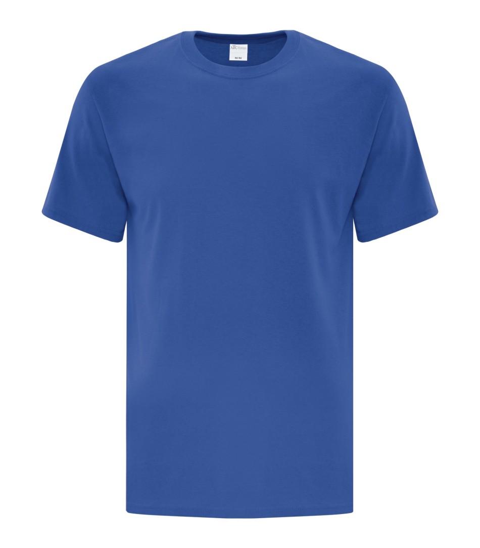 Royal Blue Unisex Everyday Cotton Tshirt
