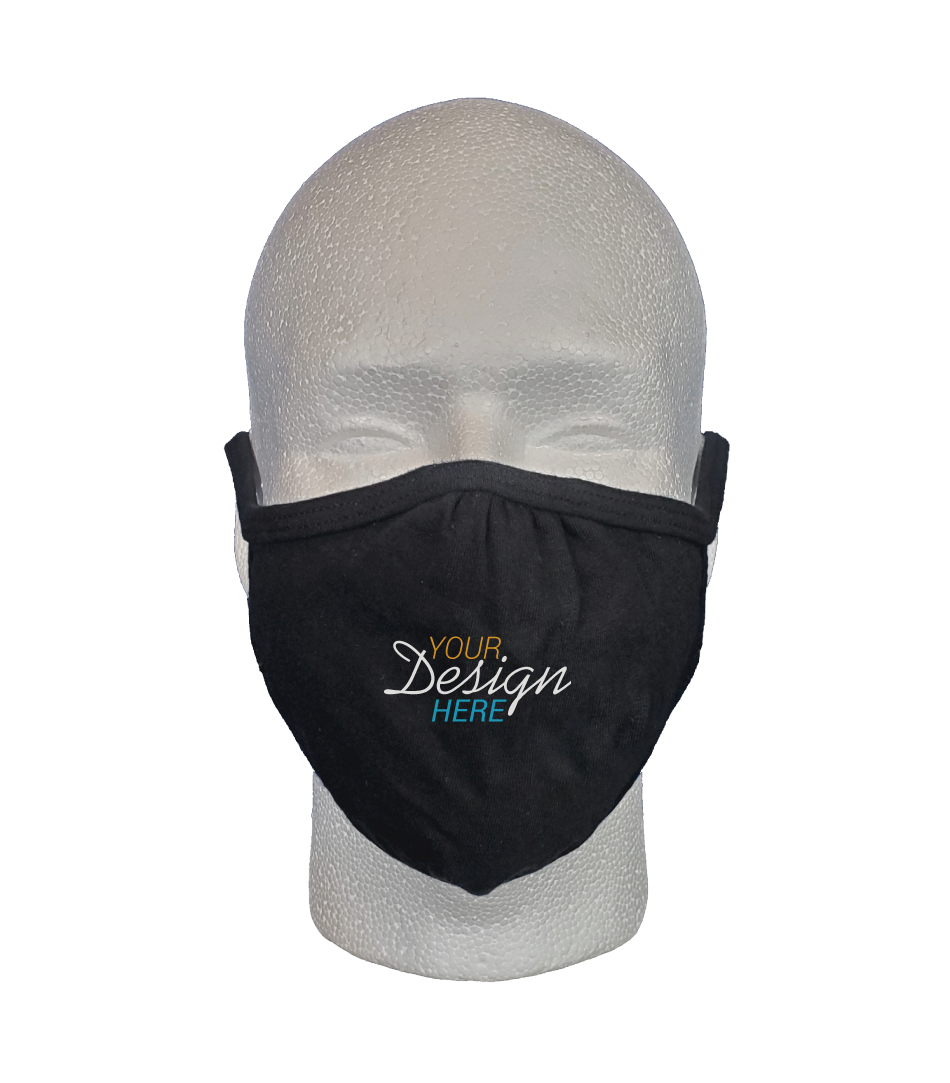 Custom Print 2-Ply Face Mask by S'more Clothing Co. - Front